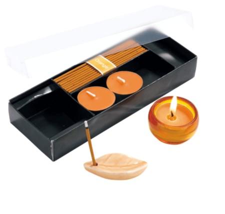 candele e incenso